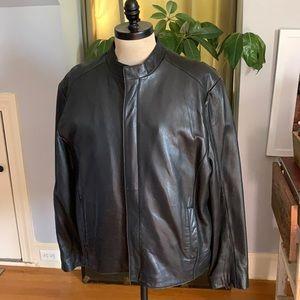 Johnston & Murphy leather Jacket